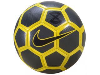 Bola Masculina Nike Sc3039-060 Football Preto/amarelo - Tamanho Médio