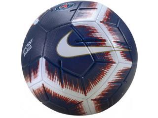 Bola Unisex Nike Sc3504-410 Paris Saint Germain Strike Marinho/branco/vermelh - Tamanho Médio