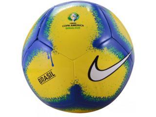 Bola Unisex Nike Sc3916-710 Copa America nk Amarelo/azul - Tamanho Médio