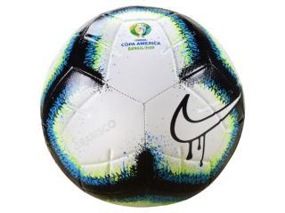 Bola Unisex Nike Sc3908-100 Copa America Branco/preto - Tamanho Médio
