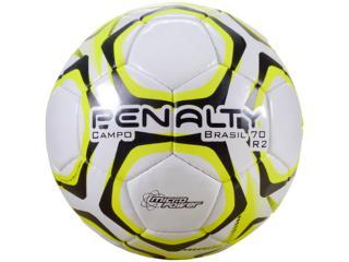 Bola Unisex Penalty 5108601810 Brasil 70 r2 ix Branco/amarelo/preto - Tamanho Médio