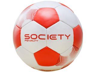 Bola Unisex Penalty  5108241600 Player vi Branco/vermelho - Tamanho Médio