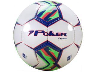 Bola Unisex Poker 05768 Branco/marinho/verde/vermelho - Tamanho Médio
