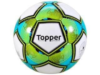 Bola Unisex Topper 42000111049 Artilheiro Futsal Branco/verde - Tamanho Médio
