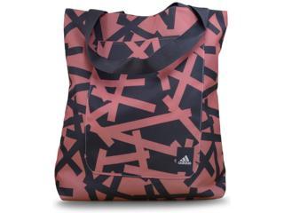 Bolsa Unisex Adidas Bq5752 Good Shopper Coral/grafite - Tamanho Médio
