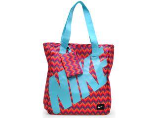 66dba91f7 Bolsa Feminina Nike Ba4666-601 Young Athletes Rowena Tot Color/azul Claro