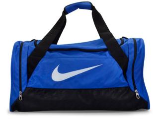 Bolsa Masculina Nike Ba4829-411 Brasilia 6 Azul/preto - Tamanho Médio