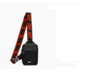 Bolsa Unisex Nike Ba5904-010 Advance Preto/vermelho - Tamanho Médio