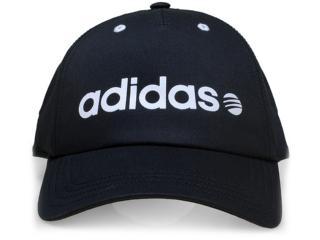 bfed63443ebd1 Boné Adidas AB6662 BASE Preto Comprar na Loja online...
