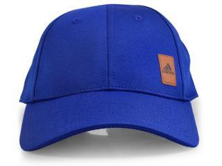 Boné Masculino Adidas Bq7358 Pique Cap Azul - Tamanho Médio