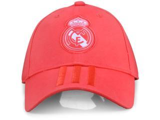 Boné Unisex Adidas Cz6101 Real Madrid 3 Coral - Tamanho Médio