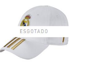Boné Masculino Adidas Dy7720 Real C40 Cap Branco/dourado - Tamanho Médio