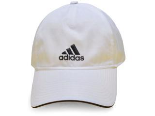 Unisex Boné Adidas S97597 Clima 5pcl Branco - Tamanho Médio
