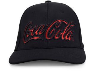 Boné Masculino Coca-cola Shoes 27740 Preto - Tamanho Médio