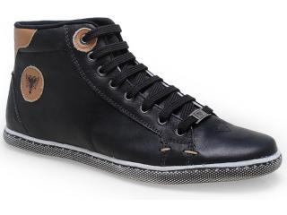 Tênis Masculino Cavalera Shoes 13.01.0917 Preto/caramelo - Tamanho Médio