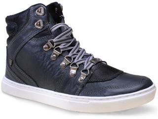 Bota Masculina Cavalera Shoes 13.01.1193 Cinza Envelhecido/preto - Tamanho Médio