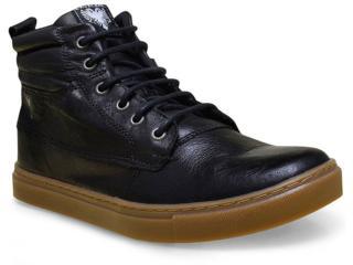 Bota Masculina Cavalera Shoes 13.01.1660 Preto - Tamanho Médio