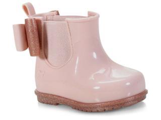 Bota Fem Infantil Grendene 17377 90773 Zaxynina Boot Baby Nude ii - Tamanho Médio