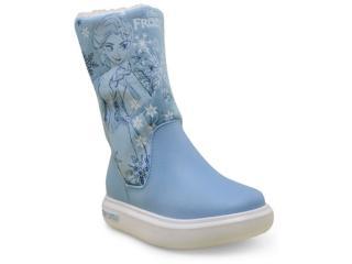 2d38af69a60 Bota Fem Infantil Grendene 21565 Frozen Snowland Azul branco