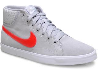 Tênis Masculino Nike 555250-061 Eastham Mid Cinza/vermelho - Tamanho Médio