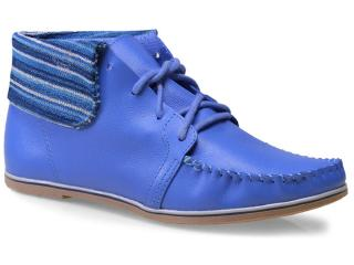 Bota Feminina Ramarim 15-81107 Azul - Tamanho Médio