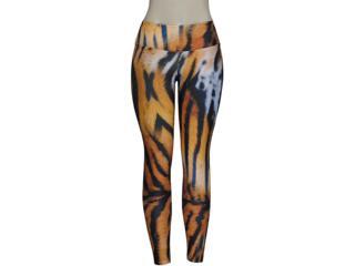Calça Feminina Alto Giro 48301 Leopardo - Tamanho Médio