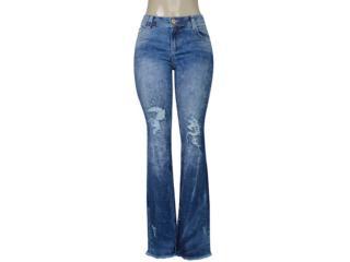 Calça Feminina Coca-cola Clothing 23202410 Jeans Estonado - Tamanho Médio