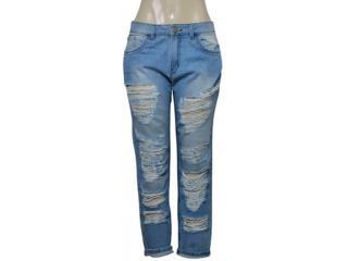 Calça Feminina Coca-cola Clothing 25200043 Jeans - Tamanho Médio