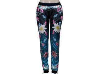Calça Feminina Dopping 012458521 Floral - Tamanho Médio