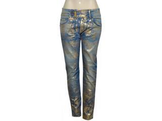 Calça Feminina Dopping 012955005 Jeans. - Tamanho Médio