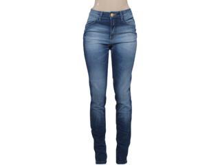 Calça Feminina Index 01.01.001643 Cor Jeans - Tamanho Médio