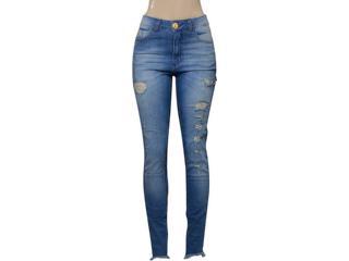 Calça Feminina Index 01.01.002246 Jeans Claro - Tamanho Médio