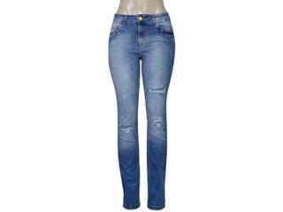Calça Feminina Index 01.01.003485 Jeans Estonado - Tamanho Médio