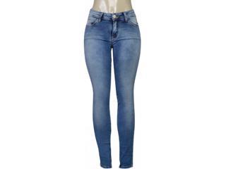 Calça Feminina Lado Avesso 102141 Jeans - Tamanho Médio