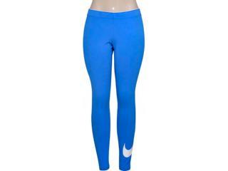 Calça Feminina Nike 815997-435 Club Logo 2 Womens Azul - Tamanho Médio
