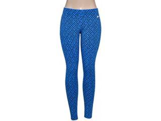 Calça Feminina Nike 725802-435 Club Printed  Azul/preto - Tamanho Médio