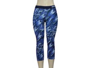Calça Feminina Nike 803160-508 Pro Cool  Roxo/preto - Tamanho Médio