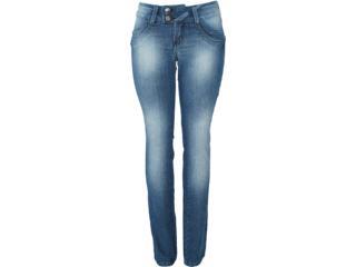 Calça Feminina Kacolako 06877 Jeans - Tamanho Médio