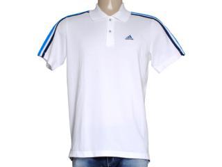 Camisa Masculina Adidas M67742 3s Ess Branco - Tamanho Médio