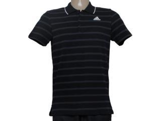 Camisa Masculina Adidas S21680  Ess 3s yd Preto/cinza - Tamanho Médio