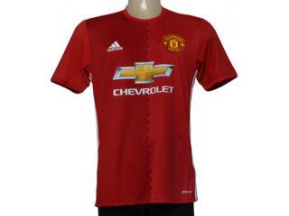 Camisa Masculina Adidas Ai6720 Man United i Vermelho - Tamanho Médio