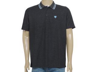 Camisa Masculina Cavalera Clothing 03.01.0642 Mescla Escuro - Tamanho Médio