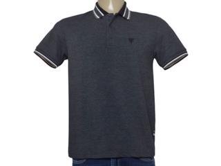 Camisa Masculina Cavalera Clothing 03.01.3824 Mescla Escuro - Tamanho Médio