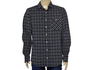 Camisa Masculina Cavalera Clothing 02.01.1412 Marinho/caqui - Tamanho Médio
