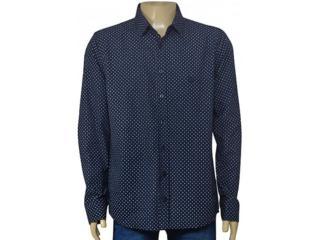 Camisa Masculina Cavalera Clothing 02.01.1466 Marinho - Tamanho Médio