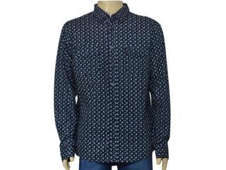 Camisa Masculina Cavalera Clothing 02.01.1433 Navy - Tamanho Médio