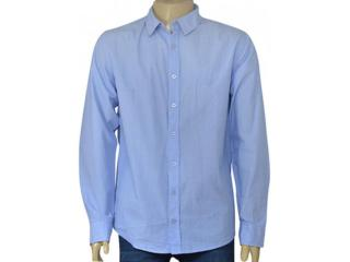 Camisa Masculina Cavalera Clothing 02.01.1481 Azul - Tamanho Médio