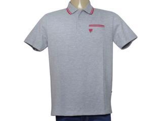 Camisa Masculina Cavalera Clothing 03.01.3820 Cinza/pink - Tamanho Médio
