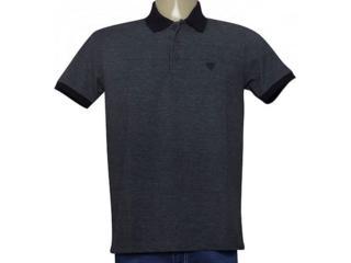 Camisa Masculina Cavalera Clothing 03.01.3881 Grafite/preto - Tamanho Médio