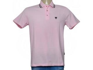 Camisa Masculina Cavalera Clothing 03.01.0642 Rosa/preto - Tamanho Médio